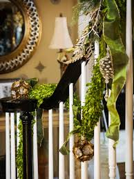 Banister Decor Decoration Indoor Christmas Decorations With Banister Christmas Decor