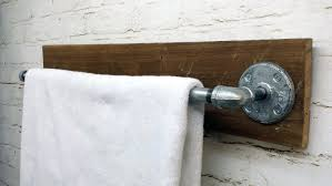 Kitchen Towel Bars Ideas Rustic Bath Towel Rack Rustic Towel Bar Zoom Rustic Towel Bar