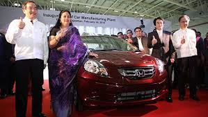honda siel cars india ltd greater noida honda cars india begins production at tapukara plant in rajasthan