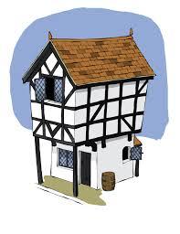 tudor houses clipart 25