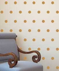 gold polka dots decal set zulily home pinterest polka dot