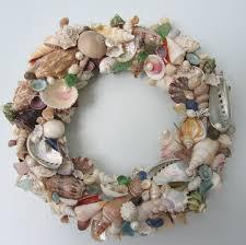 seashell wreath seashell wreath for decor nautical decor shell wreath w