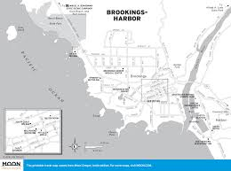 Map Of Coos Bay Oregon by Brookings Harris Beach State Park The Pacific Coast Route In Oregon