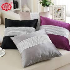 bolster bed pillows new arrival european extravagant diamate fabrics sofa chair bolster