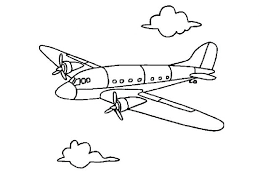 plane coloring pages print disney planes printable airplane