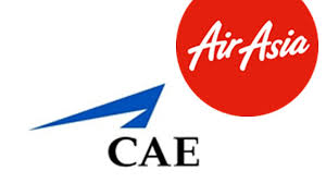 airasia logo airasia and cae extend business relationship economy traveller