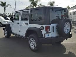 2017 jeep wrangler and wrangler 2017 used jeep wrangler unlimited sport 4x4 at bmw of san diego