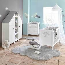 lit bébé à barreaux en bois blanc l 126 cm maisons du monde