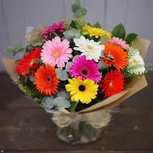 gerbera bouquet gerbera bouquet the flower shop florist amesbury