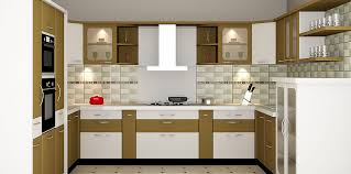 modular kitchen interiors u shaped modular kitchen design home design plan