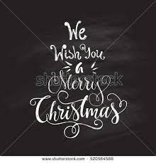 we wish you merry unique stock vector 520564588