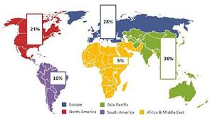 asia map with labels market trends profile of american label industry paper