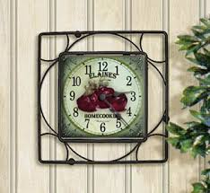 Personalized Picture Clocks Tile Clocks By Simply Sublime
