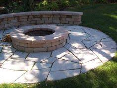 new york blue irregular flagstone patio design and creation by