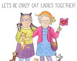 crazy old ladies greeting card let u0027s be friends til