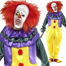 Clown Costumes Halloween Smiffys Clowns U0026 Circus Costumes Men Ebay