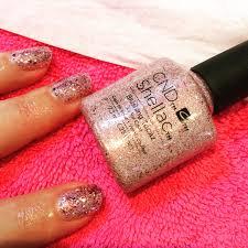 blushing topaz cnd shellac nails manicures u0026 pedicures