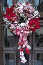 30 besten door wreath christmas bilder auf pinterest