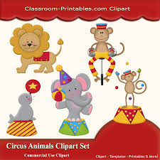 circus animals clip art clipart circus party pinterest art