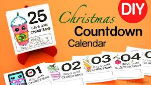 christmas countdown calendar how to make a christmas countdown calendar easy diy