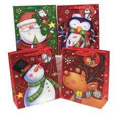 gift bags christmas gift bag christmas with glitter jumbo christmas gift bags wholesale