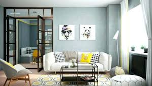 interior design on wall at home interior accent 2 bright homes with energetic yellow accents