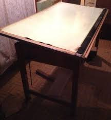 Antique Wood Drafting Table Mayline Drafting Tables Foter