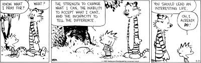 Serenity Prayer Meme - calvin s prayer