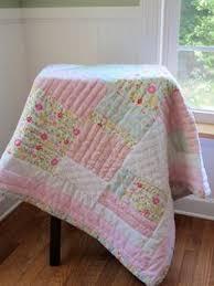 Shabby Chic Crib Bumper by Crib Rag Quilt Baby Crib Bedding Shabby Chic Nursery Sunshine
