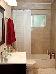 modern small bath makeover hgtv