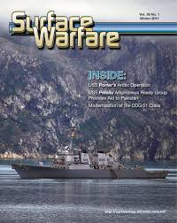 surface warfare magazine winter 2011 by surface warfare magazine