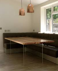 Floating Table Perspex And Ash Or Oak Wood Floating Dining Table By Sandman Home