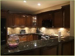 kitchen marble backsplash black quartz countertops with island
