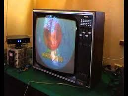 philips design fernseher philips fernseher vintage tv set k11 canaletto in line