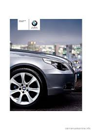 bmw 545i sedan 2006 e60 owner u0027s manual