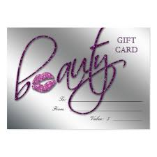 salon gift card hair salon gift certificate business card templates page2