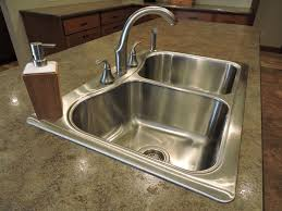 overmount sink on granite drop in sinks for granite countertops sink ideas
