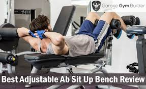 Gym Sit Up Bench Best Adjustable Ab Sit Up Bench Review Adjustable Abdominal