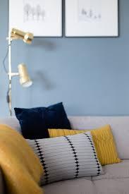Wohnzimmer Orange Blau Eine Blaue Wand Für Das Wohnzimmerwiener Wohnsinn