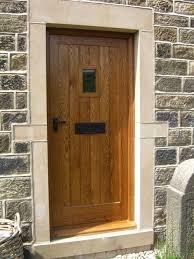 Exterior Doors Uk Solid Wood Doors Made To Measure Near Ilkley Yorkshirefine Wood