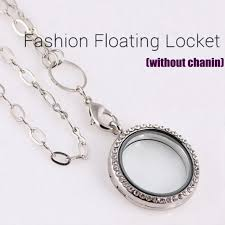 charm locket necklace charms images 1 pc living memory floating charms glass round locket pendant jpg