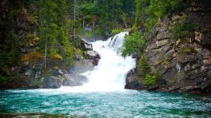 Montana waterfalls images Waterfalls montana waterfall park mountains nat glacier wallpaper jpg