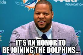 Miami Dolphins Memes - suh excited about joining miami the cheese newswire