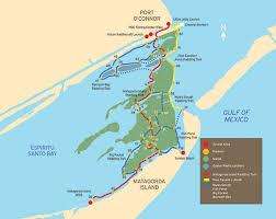 tpwd port o connor paddling trail paddling trails