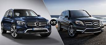 car mercedes 2016 2016 mercedes benz glc vs mercedes benz glk