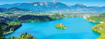 slovenia lake guided walking at lake bled slovenia