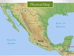 political map of mexico mexico by mr gianelli political map physical map ppt