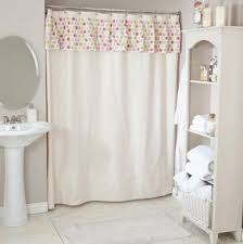 Double Swag Shower Curtain With Valance Enchanting Shower Curtains With Valance And Double Shower Curtains