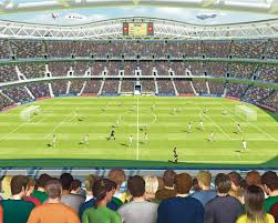 football stadium wallpaper murals football stadium wall mural universalcouncil info