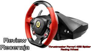 thrustmaster 458 review thrustmaster 458 spider racing wheel recenzja review